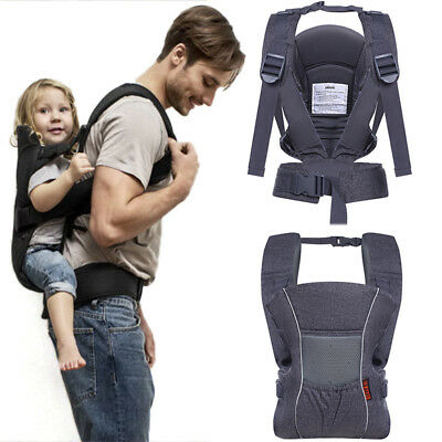 Foldable Baby Carrier All Seasons Baby Sling Backpack For Infant Toddler 3-in-1