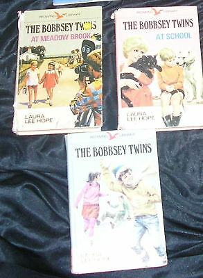 The Bobbsey Twins  x 3 Vintage H/Bs Laura Lee Hope