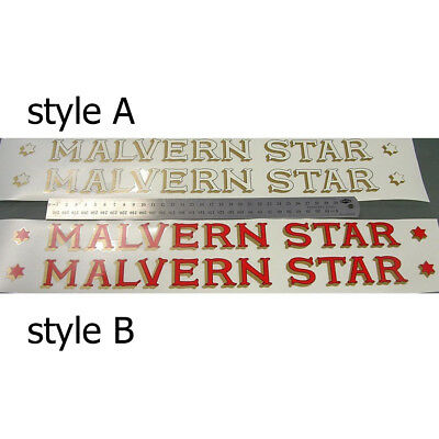 Malvern Star decals for 1930s to 40s Choice of styles vintage