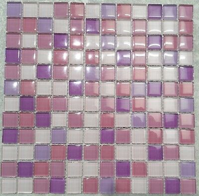 Light Purple Mosaic Tiles on Sale