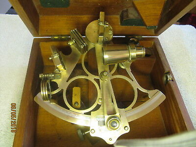ANTIQUE MARITIME SEXTANT, Heath and Co. New Eltham, LONDON SE-9       ***NICE***