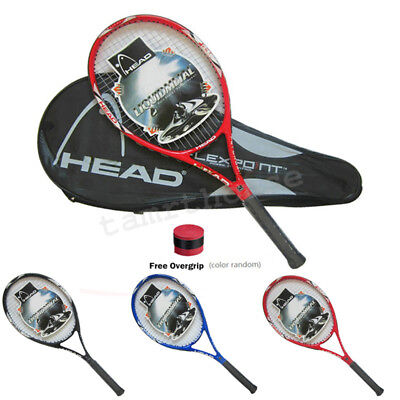 High Quality Carbon Fiber Tennis Racket Racquets Equipped with Bag Free Overgrip