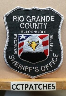 Rio Grande County, Colorado Sheriff (Police) Shoulder Patch Co