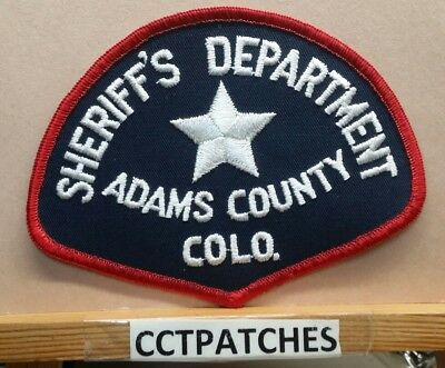 Adams County, Colorado Sheriff (Police) Shoulder Patch Co