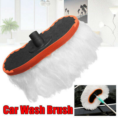 Car Replace Wash Brush Soft Milk Silk Mop Strong Water Absorption Without Handle