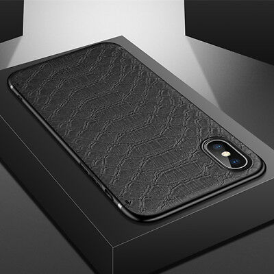 For iPhone X XS Max 8 7 6 Luxury Slim Leather TPU Case Shockproof Magnetic Cover