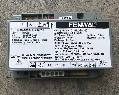 fenwal 35 662944 013 automatic ignition control system 65 00 rh picclick com Fenwal Automatic Ignition System Ferret Cages