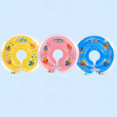 Baby Swimming Neck Float Infant Bath Ring Adjustable Safety Aids 1-18 Months UK