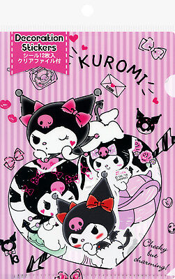 Sanrio Kuromi Decoration/Decal Stickers with File
