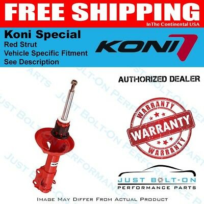 Shock 84-86 Ford Mustang SVO Front Koni Special D Red
