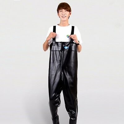 Waterproof Work Fishing Waders Wading Trousers Chest Adults Pants Boot Overalls