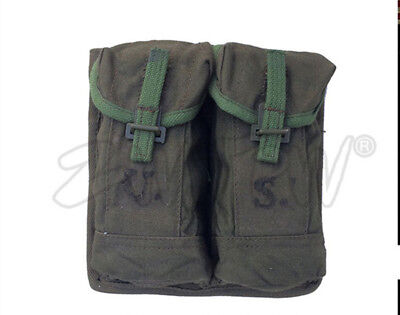 USMC Marine US WW2 WWII OFFICER'S FIELD BAG AMMO POUCH BOYT Musette Pack RARE