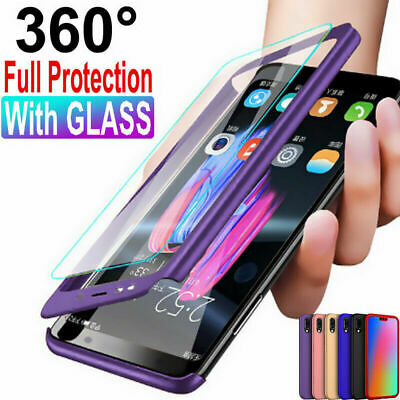 For Huawei P20 Pro/Plus/Lite Shockproof Hot Breathable Slim Hard Back Case Cover