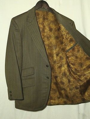 Vintage HAMMONTON PARK CLOTHES Fully Canvassed SportCoat_Sz.39S_Ticket Pocket