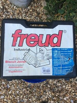 Freud JS102 Biscuit Jointer + Box of Biscuits