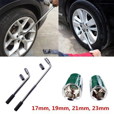 Extension Wheel Lug Master Wrench Socket Nut 17-19 21-23mm Car Tyre Tool Spanner