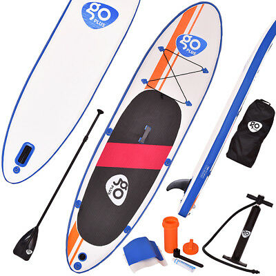 Stand Up Board Set Paddle Board Sup-Board Surfboard Paddelbrett aufblasbar 300cm