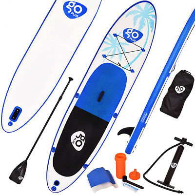 Stand Up Board Set Paddle Board Sup-Board Surfboard Paddelbrett aufblasbar 330cm