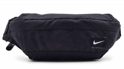 02d9e0f8cf Nike Hood Waist Pack Waistbelt Hip Sack Bag Black Sports Running Gym BA4272- 067