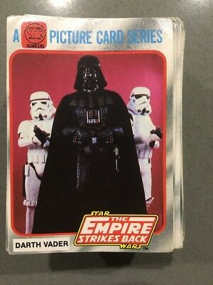 SCANLENS Star Wars Empire Strikes Back Trading Cards Lot Of 10 Take Your Pick
