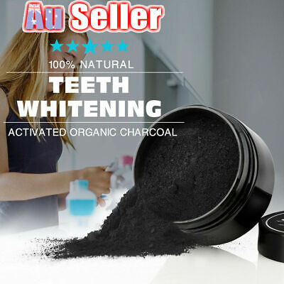 Carbon Coco Organic Teeth Whitening Powder coconut charcoal tooth polish white