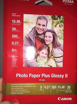 "canon photo paper plus glossy ii BNIP 5""x7"""
