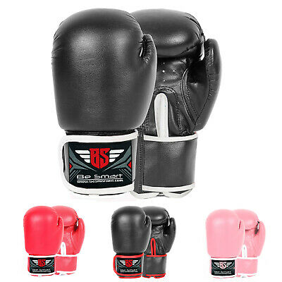 Be Smart Kids Boxing Gloves Junior Mitts Punching Bag Children Gel Pad Gloves