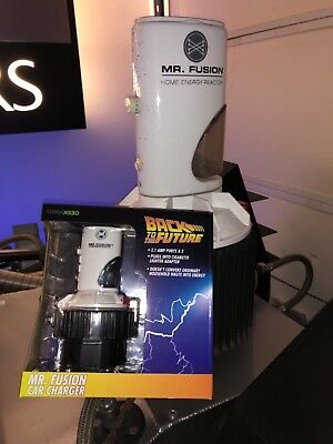 Back to the Future Mr. Fusion Car Charger USB New With Box LAST ONE!!!❤️❤️❤️❤️
