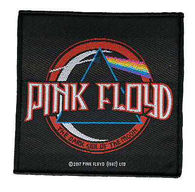 Pink Floyd  Dark Side Of The Moon  Aufnäher Pink Floyd Patch Gewebt SP2896