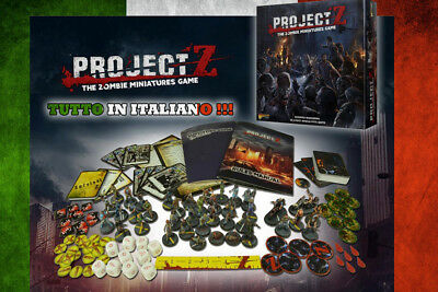 Warlord Games Project Z Scatola Base Italiano Wargame