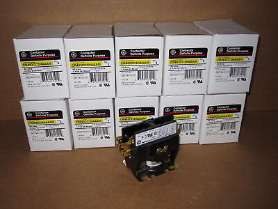 Lot of 10 - CR453CC3HAAAM Definite Purpose Contactor 30A 1P 24V NEW IN BOX