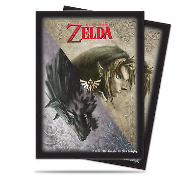 65 Pochettes The Legend of Zelda Twilight Princess Deck Protector sleeves Ultra