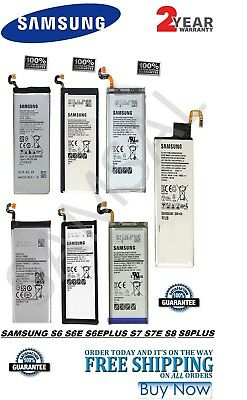 OEM Genuine Replacement Battery For Samsung Galaxy S6 S7 EDGE/PLUS S8 S8 PLUS