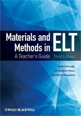 Materials and Methods in ELT: A Teacher's Guide, 3rd Edition (Paperback or Softb