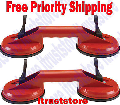 2Pc Hd Suction Cup Auto Glass Lifter Removal Windshield Installer Remover Tool