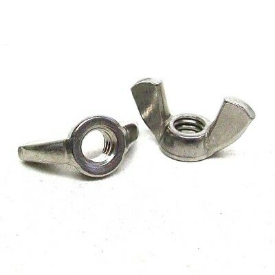 """25 Pack New 5/16-18 Wing Nut 18-8 Stainless Steel 1 1/4"""" Wing Span Free Ship Nh"""