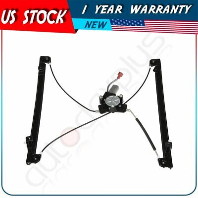 New Window Regulator Front Left with Motor fits 2004-07 Chrysler Town /& Country