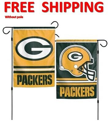 Green Bay Packers Flag NFL Packers Garden Banner 13x18 inch Double Sided  NEW! 83db8fc8c