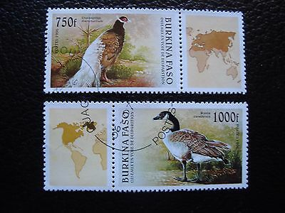 BURKINA FASO - stamp yvert and tellier n° 976 977 obl (A04) stamp (A)