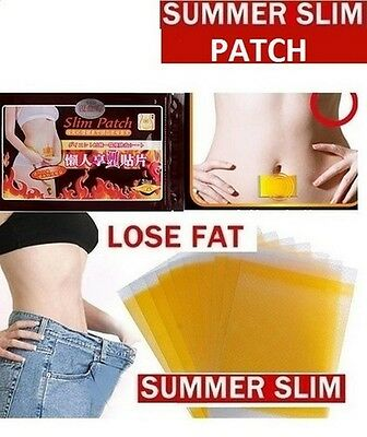 30 X Slim Patch Patches Slimming Belly Thighs Arms Love Handles 1 Month Supply!