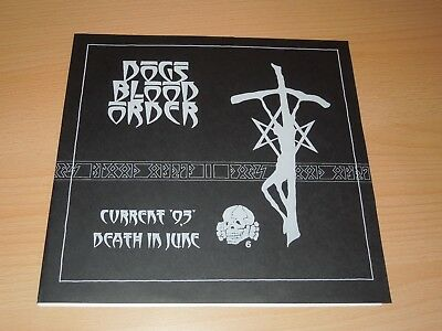 """Current 93, Death In June, Dogs Blood Order, limited Edition, 10"""""""