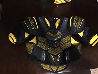 102709d9e9b BAUER SUPREME TOTALONE MX3 Shoulder Pads Senior Large 1S -  58.00 ...