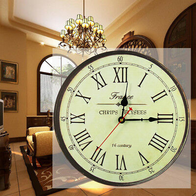 Large Wall Clock Retro Styled a great gift