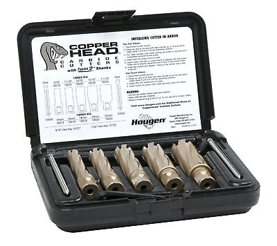 NEW HOUGEN HOU-18002 Copperhead™ Carbide Annular Cutter Kit - Fractional