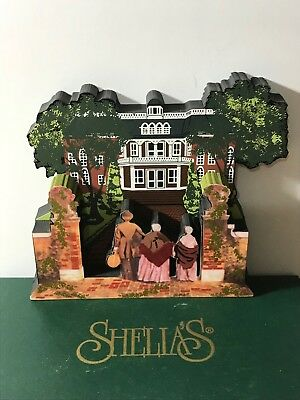 SHELIA'S HISTORICAL ORNAMENTS:  Butler's Atlanta Mansion Gone With Wind SHO-25