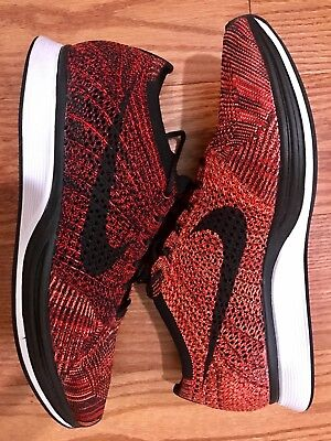 def8f1fee521 ... shopping nike flyknit racer fire rooster university red size 11.5  526628 608 0efda 9c79c