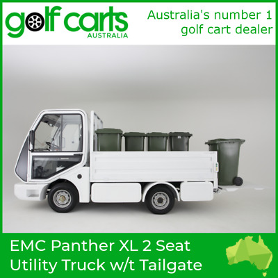 EMC Panther XL 2 Seat Utility Truck with Tailgate Lifter