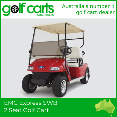 EMC Express Golf Package II - BRAND NEW VEHICLE + ACCESSORIES