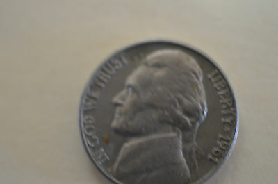 1961 Usa Five Cents