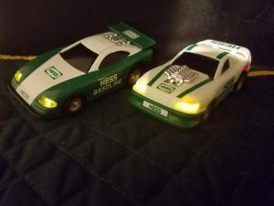 """Two Hess 1997 Toy Racers ONLY Truck is not included 4""""L"""
